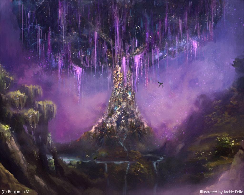 World Tree by Jackiefelixart