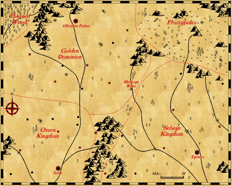 The Avatar's Flames Map
